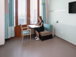Wandgarderobe EMC Rotterdam grote kamer